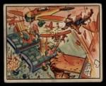 1938 Gum Inc. Horrors of War #5   Chinese Pursuers Shoot Down Jap Planes Front Thumbnail