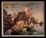 1938 Gum Inc. Horrors of War #85   Jap Planes Bomb Yellow River Bridge Front Thumbnail