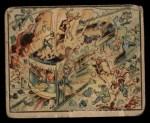 1938 Gum Inc. Horrors of War #14   Bomb Kills Passengers on Shanghai Trolley Front Thumbnail