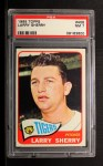 1965 Topps #408  Larry Sherry  Front Thumbnail
