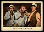 1959 Fleer Three Stooges #83   Is There Doctor in the House  Front Thumbnail