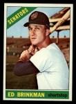 1966 Topps #251  Ed Brinkman  Front Thumbnail