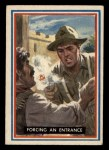 1953 Topps Fighting Marines #51   Forcing An Entrance Front Thumbnail