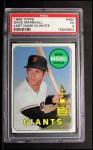 1969 Topps #464 WN Dave Marshall  Front Thumbnail