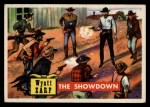 1956 Topps Round Up #39   -  Wyatt Earp  The Showdown Front Thumbnail