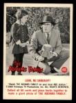 1964 Donruss Addams Family #48 AM  Look no dandruff Front Thumbnail