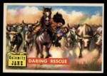1956 Topps Round Up #12   -  Calamity Jane  Daring Rescue Front Thumbnail