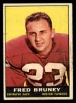 1961 Topps #177  Fred Bruney  Front Thumbnail
