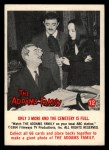 1964 Donruss Addams Family #12 AM  Only 3 more Front Thumbnail