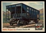 1955 Topps Rails & Sails #29   Ballast Hopper Car Front Thumbnail