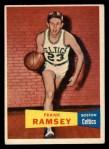 1957 Topps #15  Frank Ramsey  Front Thumbnail