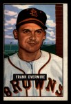 1951 Bowman #280  Frank Overmire  Front Thumbnail