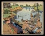 1941 Gum Inc Uncle Sam #53   Engineers Building Bridge Front Thumbnail