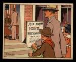 1941 Gum Inc Uncle Sam #104   Enlisting Home Guard Front Thumbnail