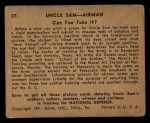 1941 Gum Inc Uncle Sam #37   Can You Take It Back Thumbnail
