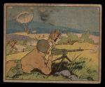 1941 Gum Inc Uncle Sam #51   Parachute Attack Front Thumbnail