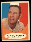 1961 Topps #139  Solly Hemus  Front Thumbnail