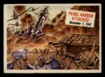 1954 Topps Scoop #19   Pearl Harbor Attacked  Front Thumbnail