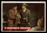 1956 Topps Davy Crockett #52   Desperate Decision  Front Thumbnail