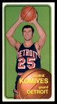 1970 Topps #42  Howie Komives   Front Thumbnail