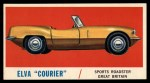 1961 Topps Sports Cars #53   Elva Courier Front Thumbnail