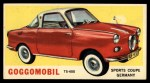 1961 Topps Sports Cars #56   Goggomobil Front Thumbnail