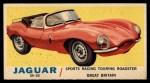 1961 Topps Sports Cars #62   Jaguar XK-SS Front Thumbnail