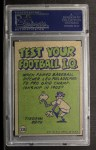 1972 Topps #338   -  Steve Spurrier Pro Action Back Thumbnail