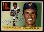 1955 Topps #152  Harry Agganis  Front Thumbnail