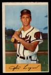 1954 Bowman #80 COR Johnny Logan  Front Thumbnail
