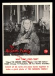 1964 Donruss Addams Family #14 CAN  Want some lizard soup?  Front Thumbnail