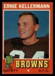 1971 Topps #7  Ernie Kellermann  Front Thumbnail