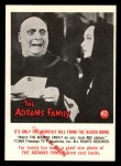 1964 Donruss Addams Family #42 CAN  Monthly bill from blood bank  Front Thumbnail