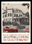 1964 Donruss Addams Family #64 CAN  House for sale  Front Thumbnail