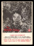 1964 Donruss Addams Family #35 AM  I always play in poison ivy Front Thumbnail