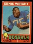 1971 Topps #99  Ernie Wright  Front Thumbnail