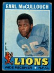 1971 Topps #127  Earl McCullough  Front Thumbnail