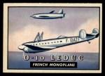 1952 Topps Wings #103   O-10 Leduc Front Thumbnail