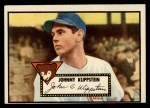 1952 Topps #148 CRM Johnny Klippstein  Front Thumbnail