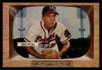 1955 Bowman #11  Billy Bruton  Front Thumbnail