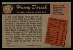1955 Bowman #248  Harry Dorish  Back Thumbnail