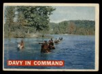 1956 Topps Davy Crockett #6   Davy In Command  Front Thumbnail