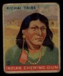 1933 Goudey Indian Gum #87   Kichai Tribe  Front Thumbnail