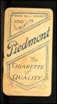 1909 T206 PCH Addie Joss  Back Thumbnail