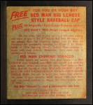 1955 Red Man #24 AL Minnie Minoso  Back Thumbnail