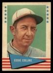 1961 Fleer #16  Eddie Collins  Front Thumbnail