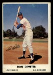 1961 Bell Brand Dodgers #16  Don Demeter     Front Thumbnail