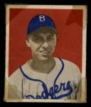 1949 Bowman #100  Gil Hodges  Front Thumbnail