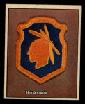 1950 Topps Freedoms War #181   98th Division  Front Thumbnail