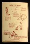 1939 Goudey Premiums R303B #23 BW Joe Vosmik  Back Thumbnail